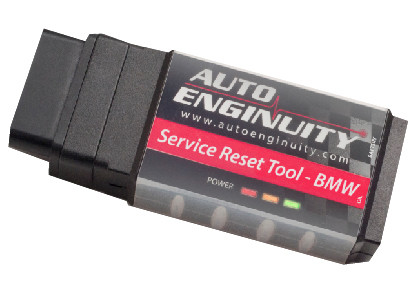 Service Reset Tool for '01-'16 BMWs (SR01)